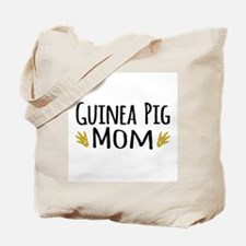 Guinea pig Mom Tote Bag