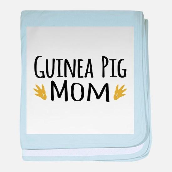 Guinea pig Mom baby blanket