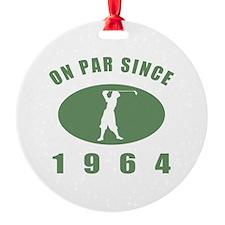 1964 Birthday Golf Ornament