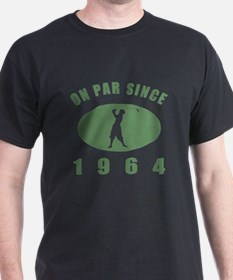 1964 Birthday Golf T-Shirt
