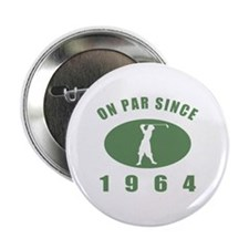 "1964 Birthday Golf 2.25"" Button"