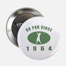 """1964 Birthday Golf 2.25"""" Button"""