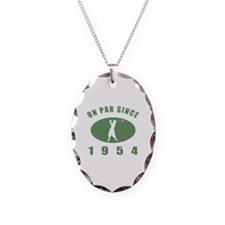 1954 Birthday Golf Necklace