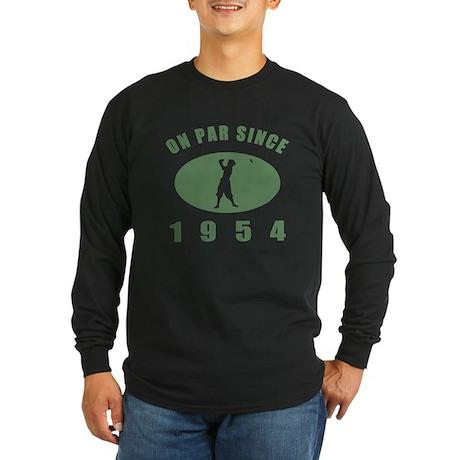 1954 Birthday Golf Long Sleeve Dark T-Shirt