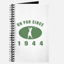 1944 Birthday Golf Journal