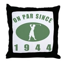 1944 Birthday Golf Throw Pillow