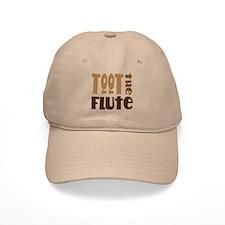 Funny Toot The Flute Baseball Cap