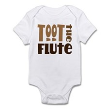 Funny Toot The Flute Infant Bodysuit