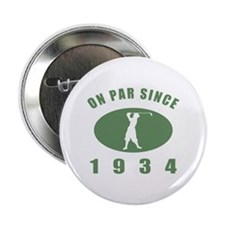 """1934 Birthday Golf 2.25"""" Button (100 pack)"""
