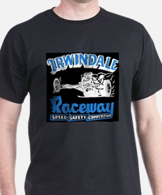 Old Irwindale Logo Black T-Shirt