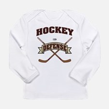 Hockey Defense Long Sleeve Infant T-Shirt
