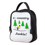 X Country Junkie Neoprene Lunch Bag