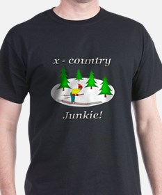 X Country Junkie T-Shirt