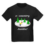 X Country Junkie Kids Dark T-Shirt