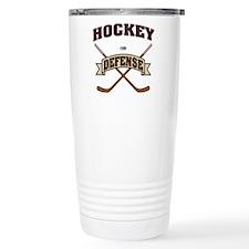 Hockey Defense Travel Mug