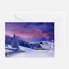 Beautiful house [ winter ] Greeting Card