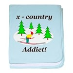 X Country Addict baby blanket