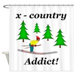 X Country Addict Shower Curtain