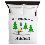 X Country Addict Queen Duvet
