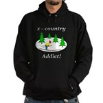 X Country Addict Hoodie (dark)