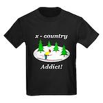 X Country Addict Kids Dark T-Shirt