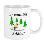 X Country Addict Mug