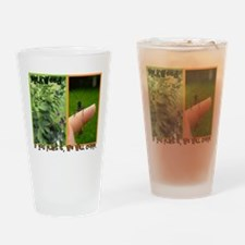 If You Plant It, We Will Come Drinking Glass