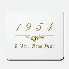 1954 Milestone Year Mousepad