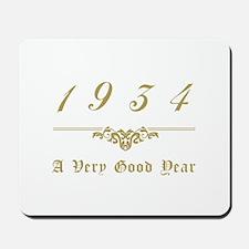 1934 Milestone Year Mousepad