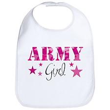 Army Girl Bib