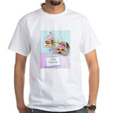 Macarons Mens Classic White T-Shirts