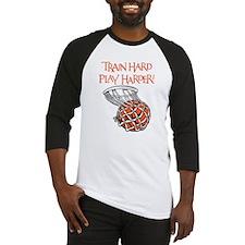 TRAIN HARD Baseball Jersey