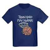 Basketball girls Kids T-shirts (Dark)