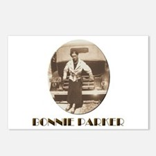 Bonnie Parker Postcards (Package of 8)