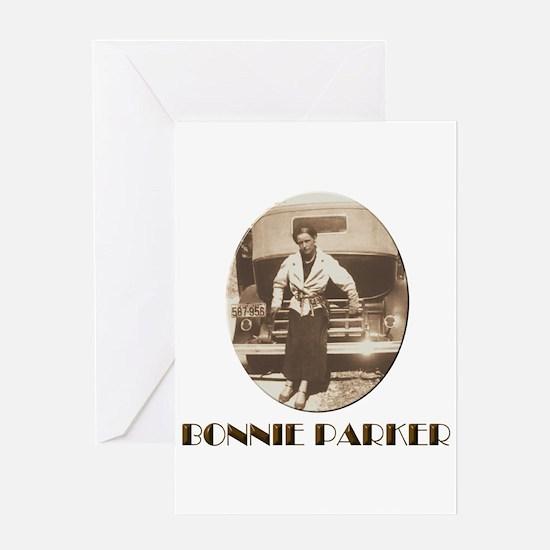 Bonnie Parker Greeting Cards