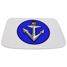 Stylish Anchor Bathmat