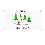 Ski Junkie Banner
