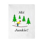 Ski Junkie Twin Duvet