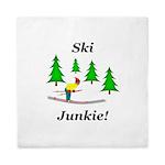 Ski Junkie Queen Duvet