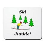 Ski Junkie Mousepad