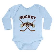 Hockey Fan Long Sleeve Infant Bodysuit