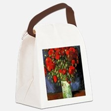 Red Poppy, Vincent van Gogh Canvas Lunch Bag