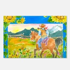 Sunflower Ride Postcards (Package of 8)