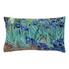 Iris, Vincent van Gogh. Vintage floral Pillow Case