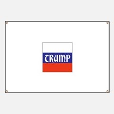 trump will make Russia great, Banner