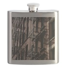 NYC Fire Escape Flask