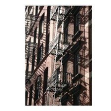 NYC Fire Escape Postcards (Package of 8)