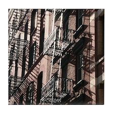 NYC Fire Escape Tile Coaster