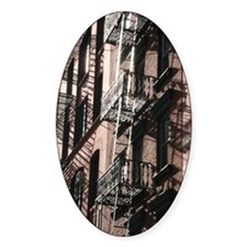 NYC Fire Escape Decal