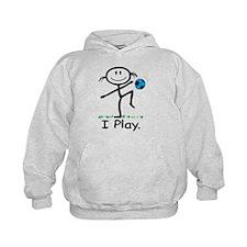 Soccer Girl Blue Hoodie